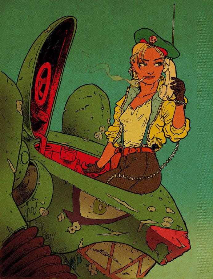 FishsTank by RalphNiese on deviantART #girl #niese #tank #ralph #wasteland