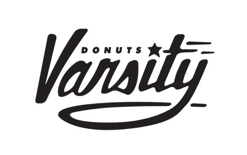 Matt Stevens // Creative Direction + Design - WORK BLOG - New Work: Varsity Donuts / Phase 1 #logo #identity