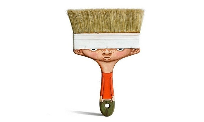 Gilbert Legrand Transforms Everyday Objects into Creative Characters #illustration #character #art #painting