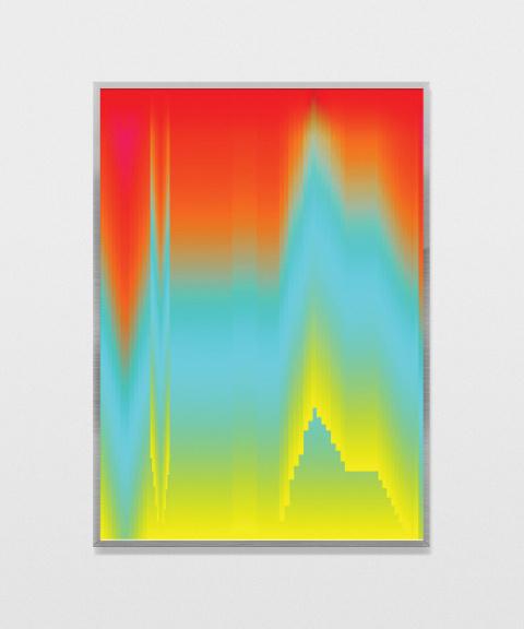 Manuel Fernández | PICDIT #gradient #art #glitch #design #color