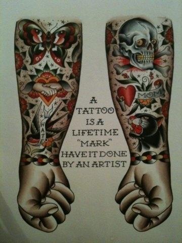 FFFFOUND! #tattoo #poster