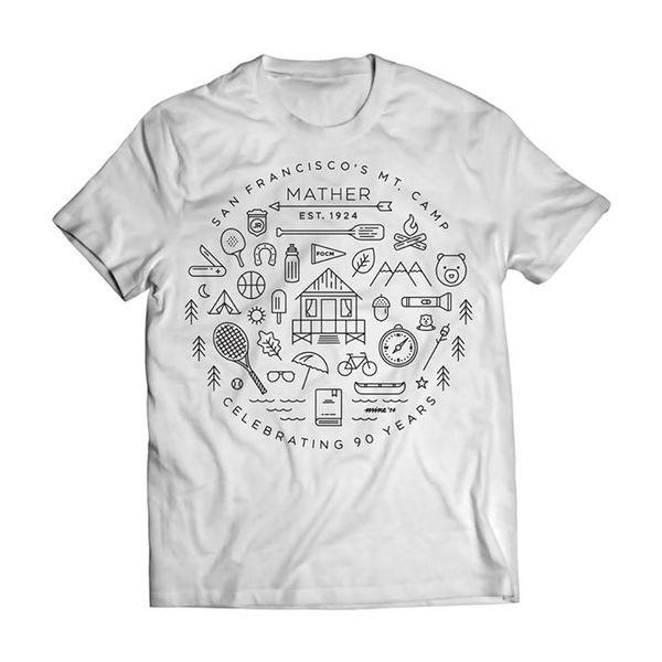 Camp Mather T-Shirt, 2014 #icons #camp #shirt