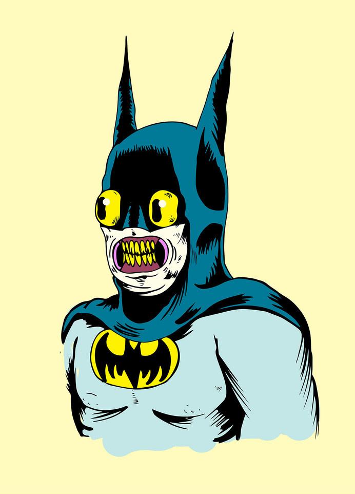 Sr calavera mexico #monster #mexico #illustration #batman