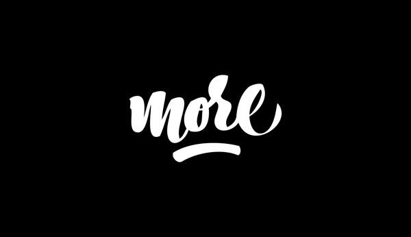 BRUSH PEN LETTERING on Behance #more #type #lettering #brush