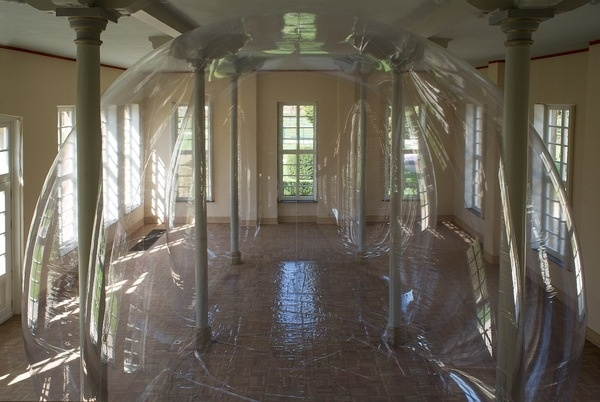 CJWHO ™ (The sculpture 'Alias' by Miriam Jonas The...) #sculpture #installation #bubble #air #design #interiors #architecture #art #clever