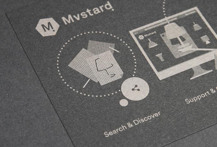 Mvstard! by Think Work Observe #brand design #stationery #business card