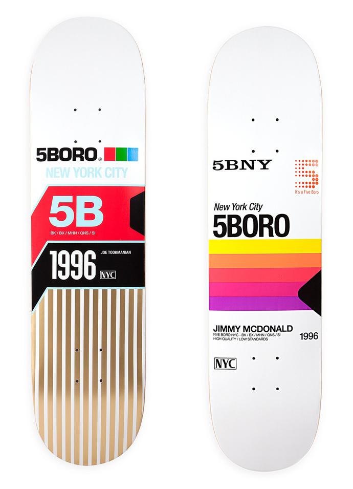 mrmcqueen: Â 5BORO #skateboard