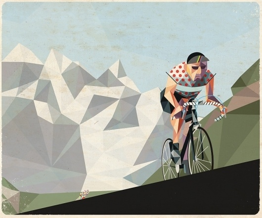 mountain2.jpg 900×750 pixels #illustration #bike #geometric