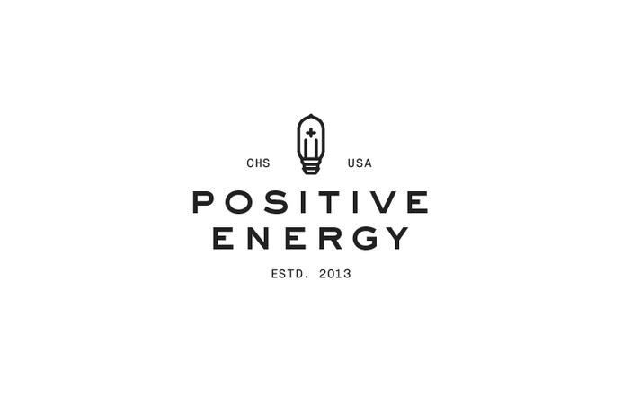 Positive Energy Brand Creation #logo #design #identity #branding