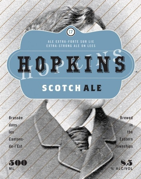 Boquébière Hopkins #packaging #beer #label #bottle