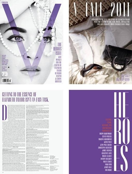 Design Work Life » cataloging inspiration daily #purple #perls #magazine