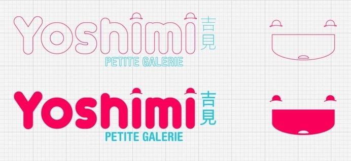 Logo for Yoshimi Gallery #plata #yoshimi #del #acopiodg #logo #mar