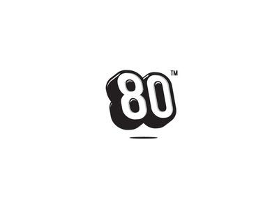 80 logo #logo #80