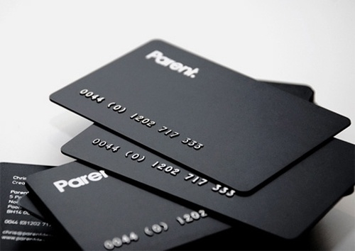 Parent business cards #card #minimal #business