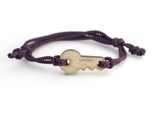 Key Kemono #bracelet / #wristlet - #wood edition - wood #product #design