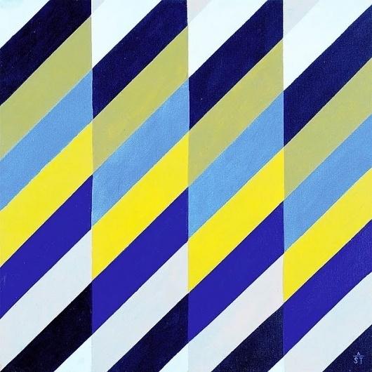 MID-CENTURIA : Art, Design and Decor from the Mid-Century and beyond: The Art of Anton Stankowski #stankowski #1992 #rhythm #surface #art #anton