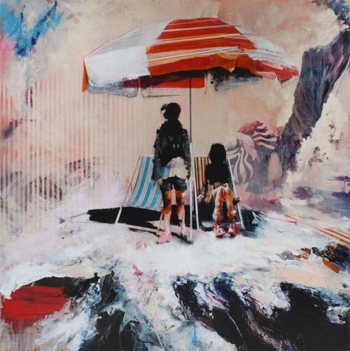 Artist painter Ian Francis #beach #painting