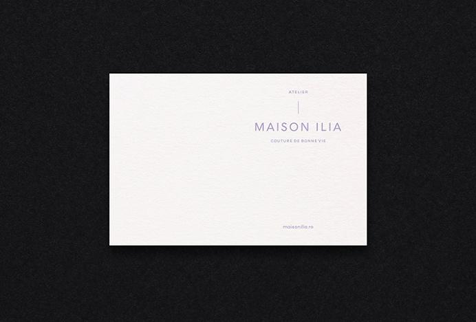 Maison Ilia by SilkEight #graphic design #print #stationary