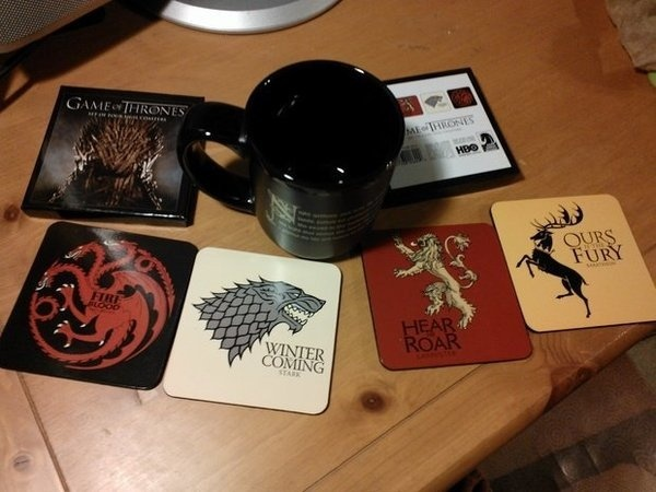 Game of Thrones Coaster Set #gadget