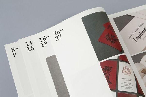 Print for print production studio Cerovski designed by Bunch #print #production #studio #designed #bunch #cerovski