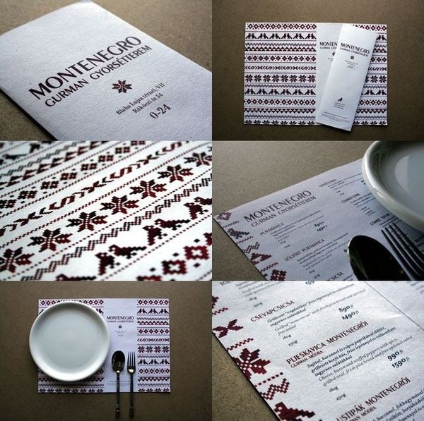 45 Restaurant Identity, Menu & Stationery Designs Showcase Blog of Francesco Mugnai #catering