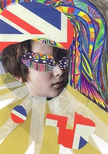 Claudio Parentela's collages #arts