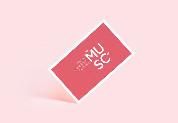 MUSC on Behance #branding #business #pink #design #graphic #identity #typography