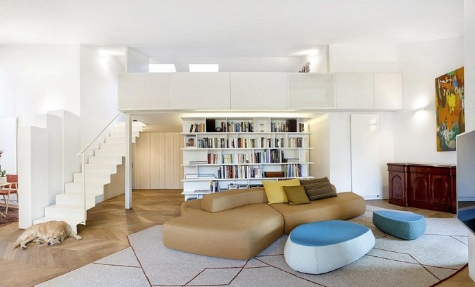 210 sqm Apartment Renewal by Bartoli Design