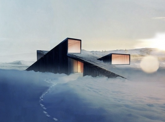 fantastic norway architects: mountain hill cabin #architecture