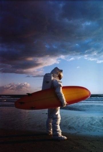 Humor #astronaut #beach #humor