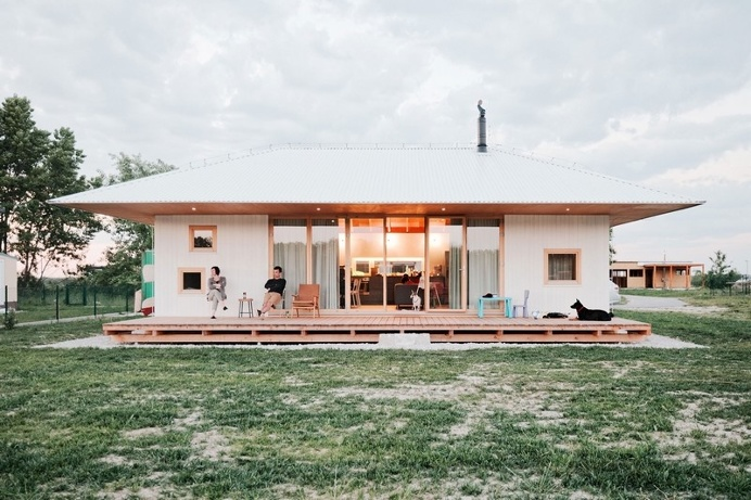 Single-Storey Bungalow for a Family of Five