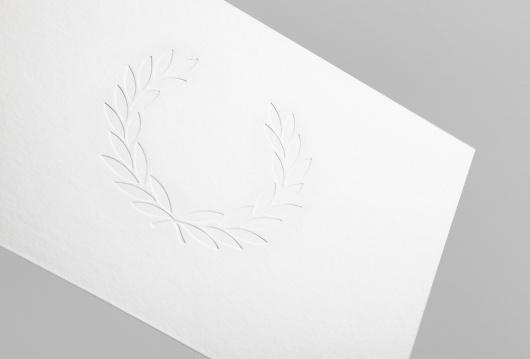 SI Exclusive – Noble Studio | September Industry #invite #fredperry #emboss