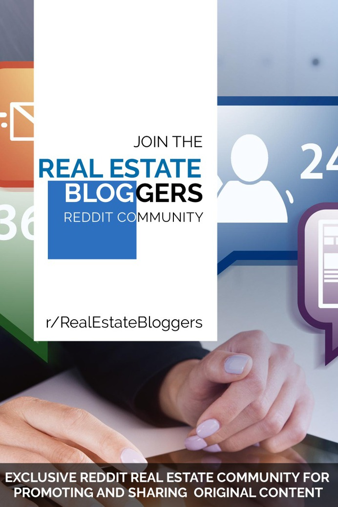 Join The Real Estate Bloggers Group on Reddit