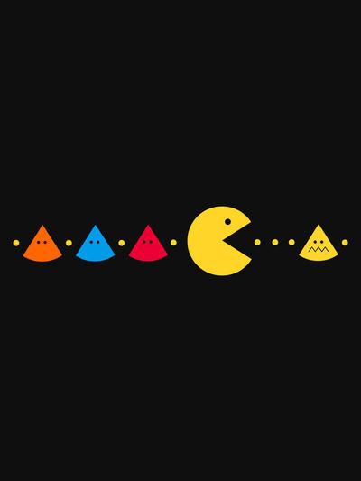 Missing Peace #design #graphic #illustration #gaming #humor