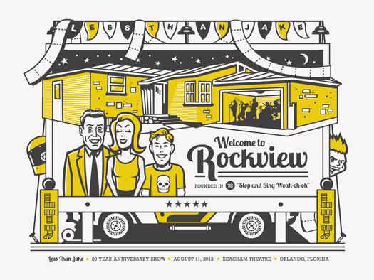 LTJ poster by Tron Burgundy #screen #print #poster