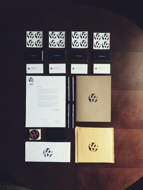 Dribbble - UG.jpg by Usman Group #logo #print #branding #stamp
