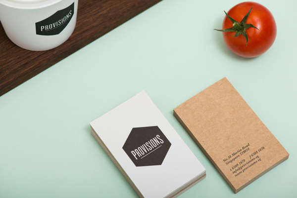 Provisions on Behance #cards