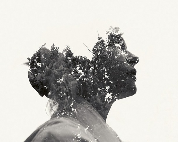 Multiple Exposure Portraits | koikoikoi #photography #graphic #designer #exposure #double #christoffer #relander