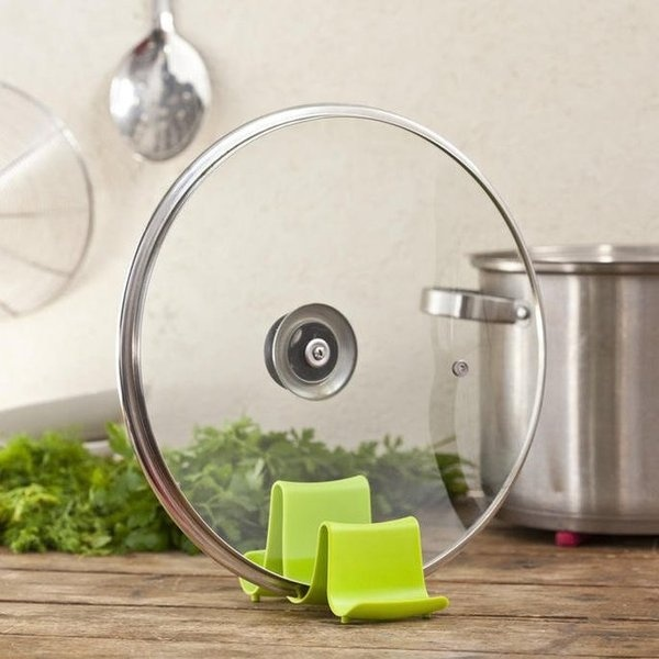 Pot Lid Stand From Klipy Design #gadget #home