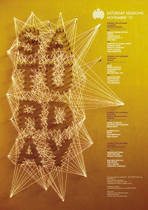 Ministry of sound _D&AD Brief on the Behance Network