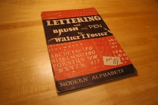 All sizes | Vintage Lettering Book | Flickr - Photo Sharing!