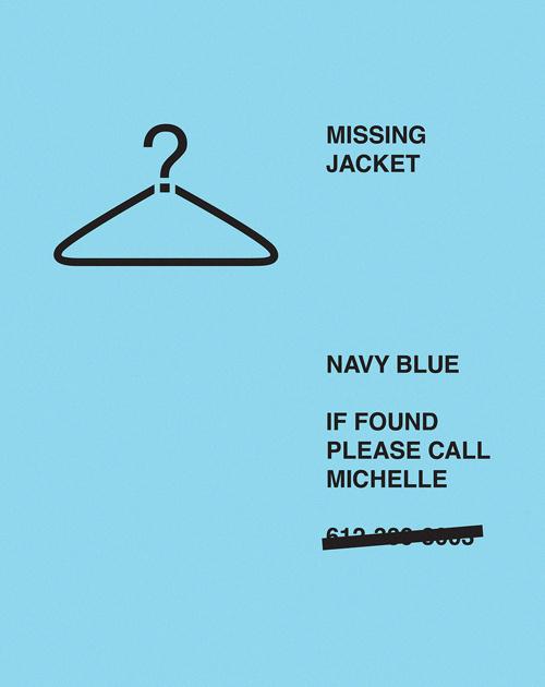 Missing poster #jacket #missing #poster