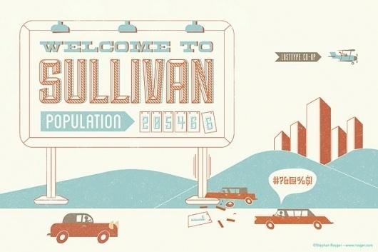 Lost Type Co-op | Sullivan #typography