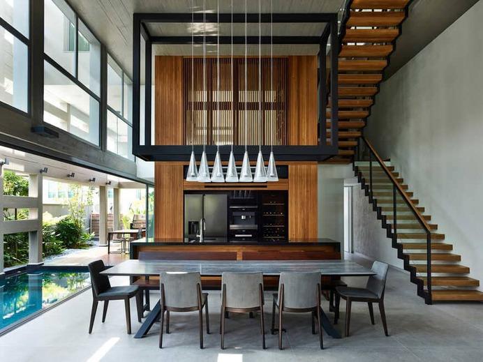 dining room, HYLA Architects