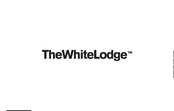 TheWhiteLodge #brand #design #identity