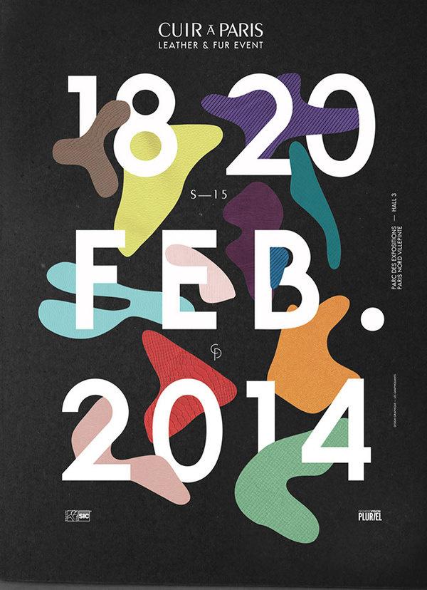 Cuir à Paris SS 15 Les Graphiquants #poster