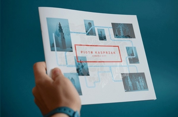 Ceramic City on Behance #book #map #publication #gif #awesome