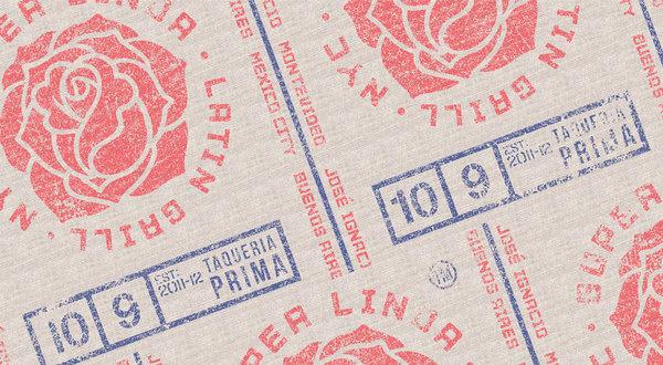 SUPER LINDA #design #pattern #texture #typography