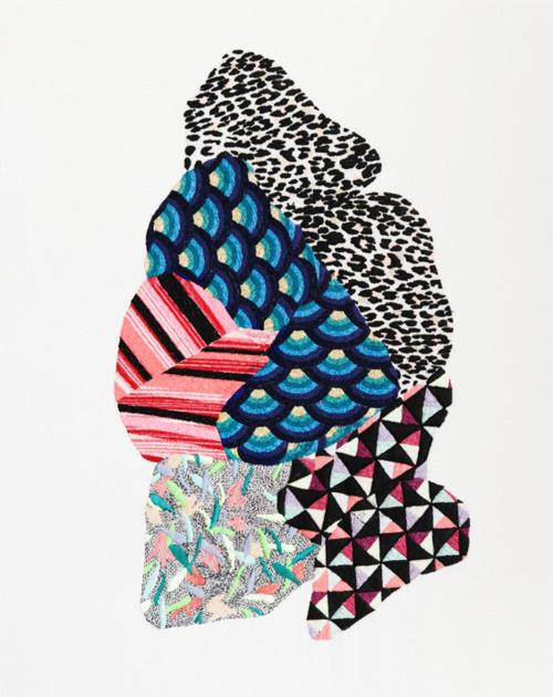 JAZMIN BERAKHA #pattern #embroidery #illustration #art #fashion