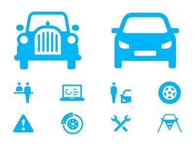 Dribbble_upload_img_cars #oldtimer #pictogram #icon #symbol #car